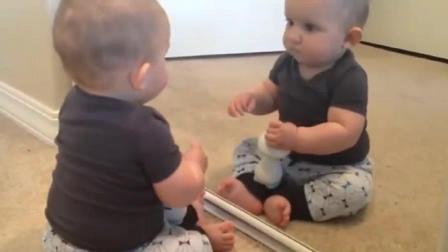 搞笑宝宝视频, 这样的宝宝能笑死你