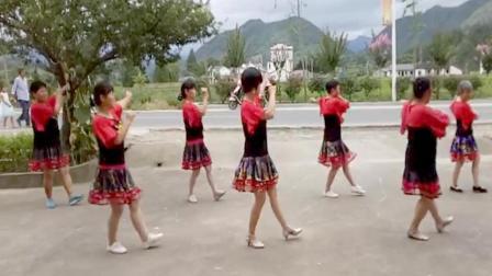 乡村广场舞《套马杆》编舞: 玫香