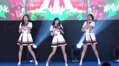 SNH48莫寒、戴萌、孙芮为品牌站台 穿制服大跳热