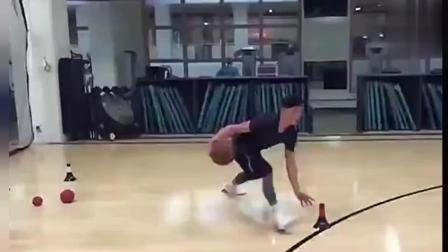 林书豪篮球训练视频, 运球上篮基本功扎实到不行
