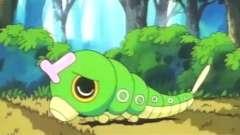 绿毛虫长得丑被美女讨厌, 真是世态炎凉, 动漫世