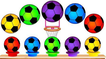 玩转彩色足球转盘玩具
