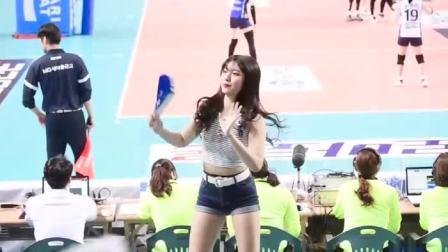 场边有这样的美女啦啦队, 比赛结果如何已经不重