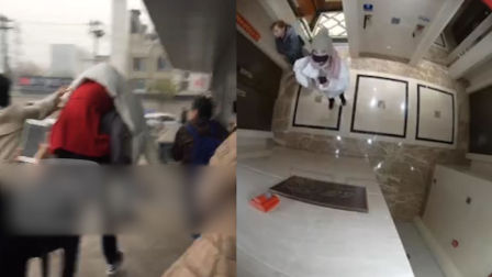 马蓉被人背着从医院跑了,拒绝记者采访