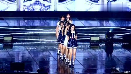 水手風韓國美女, 小姐姐們看著都好小, 網友: 人家粉絲多到嚇死你