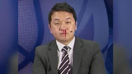 根本没在慌的 韩国主播直播鼻血狂流神情淡定