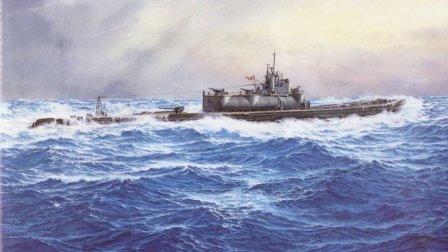 美国俘获日本超级潜艇 苏联要求共享 美军无奈击沉