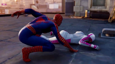 《漫威蜘蛛俠》4: 超煩人的怪咖女挑戰賽, 終于把她拿下了!