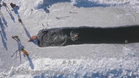 冬泳來黑龍江,在黑龍江室外溫度-20℃以下那才算真正的冬泳
