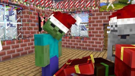 我的世界动画-怪物学院的圣诞节-MAXIM