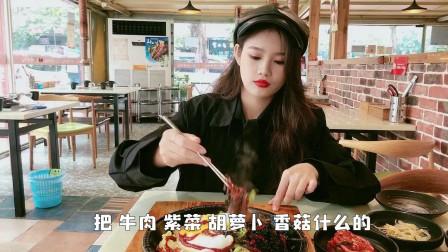 韩国夫妻跑到广州开了一家烤肉店, 160元才够2人