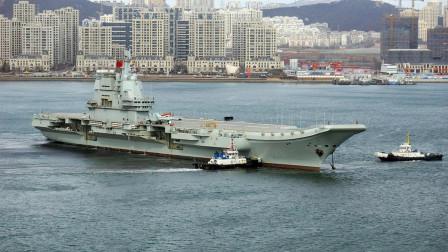 002航母将在数月内服役,最快4月份,与辽宁舰一起干大事