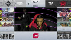2019英雄联盟LPL春季赛 OMG VS TOP 第一场