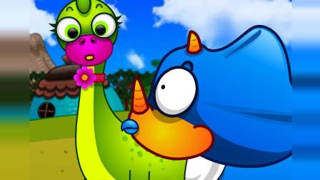 恐龙动画片 雨季要注意 上 儿童科学探索系列经