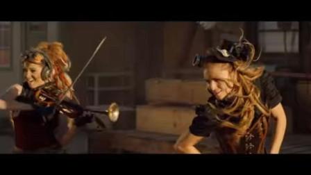 史上最疯狂的音乐对战 酒吧美女与大叔的小提琴