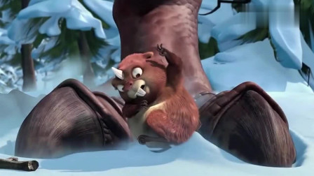冰川时代3:恐龙妈妈来找孩子,把希德也一块带走了