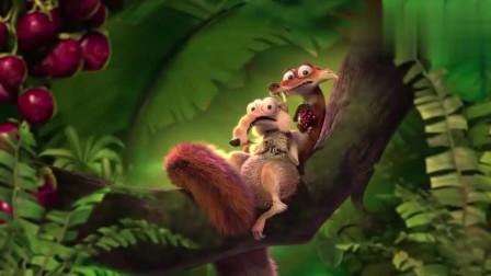 冰川时代3:希德面临险境,负鼠兄弟和巴克骑着翼龙来救援了