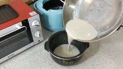 *茶蒸米饭,加点糖味道更好