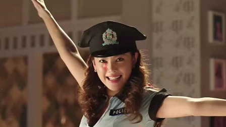 美女喜欢角色扮演,穿制服扮警察,男朋友一脸
