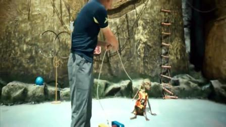 """疯狂外星人:黄渤竟然这么训练""""猴"""",最终还是""""猴""""服软了"""
