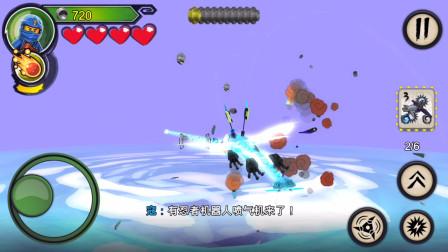 乐高幻影忍者 影子武士 穿越无尽之海 返回陈大师的岛