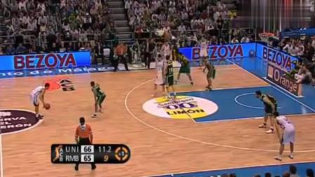 解说员疯了!欧洲篮球比赛三分绝杀后被反绝杀再被绝杀