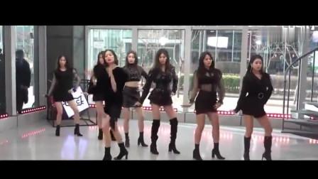 韩国美女舞团CLC,唱跳《BLACK DRESS》,好可爱的妹