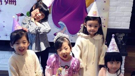 刘畊宏女儿生日趴齐聚小公主 小泡芙近照曝光太
