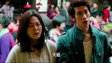 小伙带韩国美女买菜,没想到美女的中文说得这