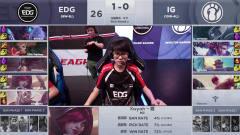 2019LPL春季赛LOL英雄联盟第10周 IG VS EDG 第2局