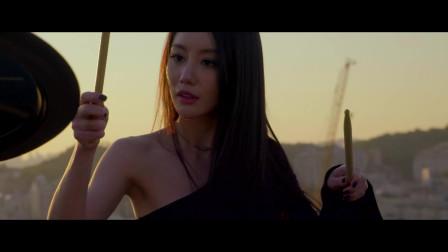 【韩国女鼓手】雅妍,动作优雅,音乐动听(四
