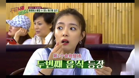 韩国美女来中国吃海鲜,每上一道菜到嗷嗷叫,