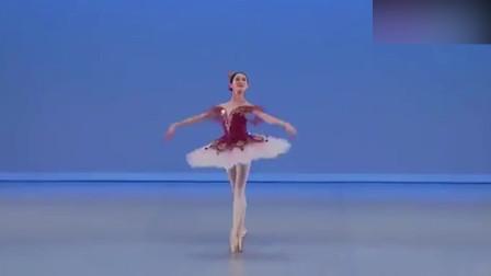 艺术舞蹈:韩国美女的芭蕾舞表演,真是舞美人