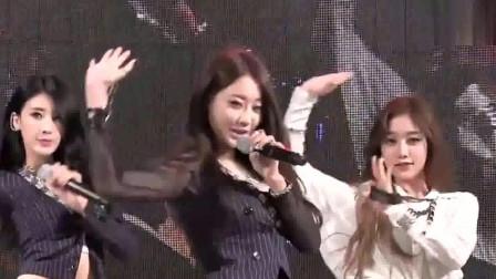 韩国女团性感热舞,高挑的身材,气质美女