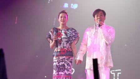 中韩歌手对唱《神话》,成龙一开口,韩国女歌