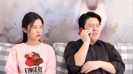 搞笑视频:爸爸吹嘘自己闺女有·出息,祝晓晗还