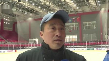 中国大学生备战世界名校冰球赛