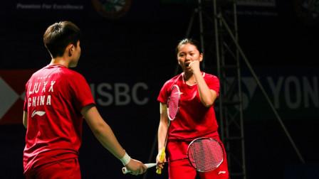 新加坡赛小花组合爆冷挑落世界第9 晋级女双4强