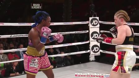 女子拳击最凶狠的比赛视频