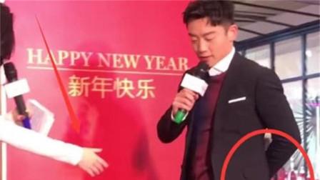 郑恺出席某活动,拒绝与女主持人握手,网友: