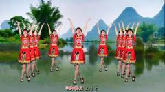 广场舞 网络热门广场舞, 《幺妹家住十三寨》抒