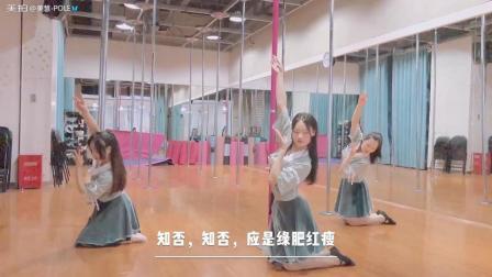 古典风钢管舞《知否》结课啦婷婷老师的编舞