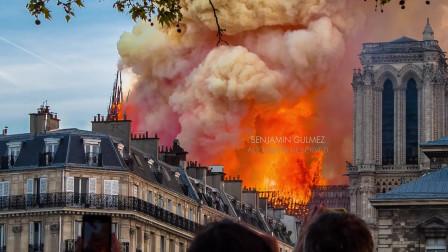 巴黎圣母院火灾4片段(1),这也许是上帝开的一个玩笑!
