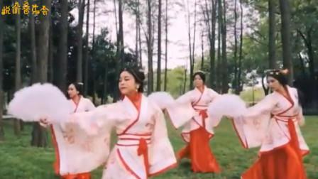 抖音超火古风神曲《红昭愿》,配上这舞蹈,这美人,画风简直太美了!
