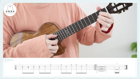 教学  Rondo 指弹小曲 尤克里里指弹白熊音乐