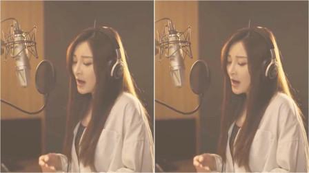 美女实力翻唱英文歌,听着听着就醉了