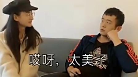 搞笑视频:女孩问男朋友:你看我美吗?他默默