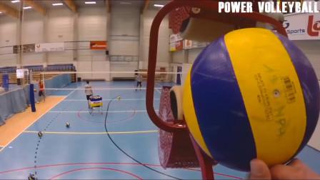 女子排球+运动相机精彩排球视频,记录一下体育