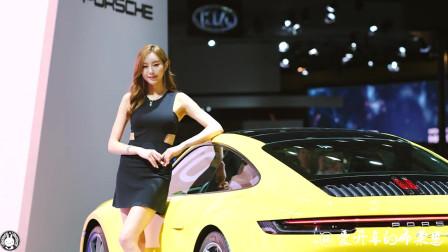 2016韩国首尔美女车展,完美节奏极致电音