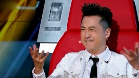 中国好声音:美女翻唱《小苹果》,哈林也被惊